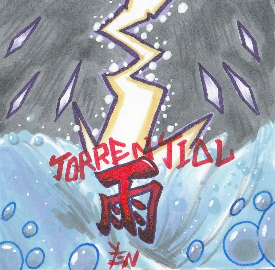 Torrential Rain Album Art Design