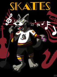 AHL MAX Series Number 18 of 30: Skates - Chicago Wolves