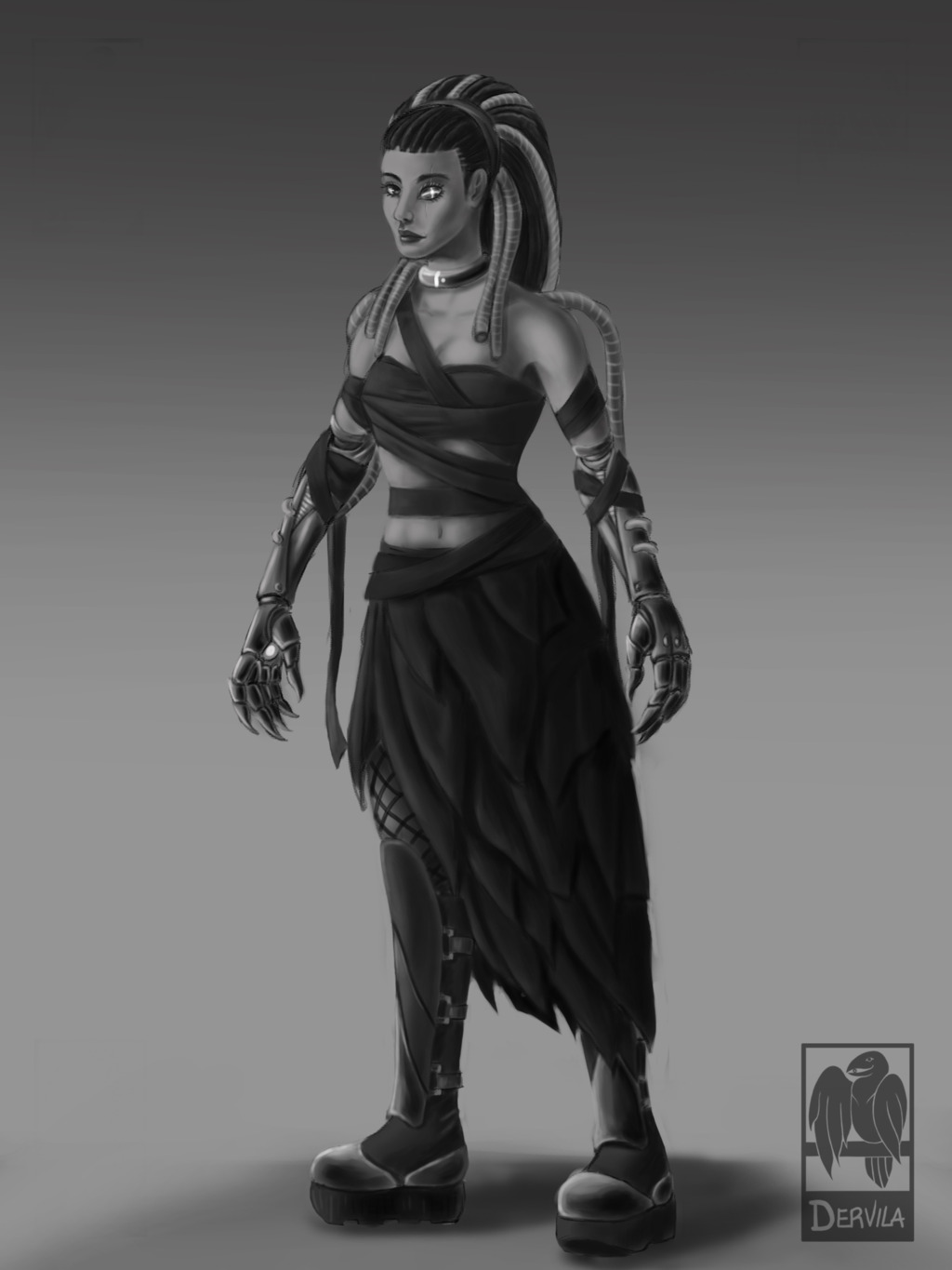 Wicked Witch Concept art