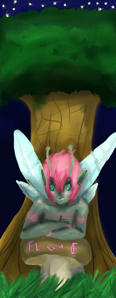 Flute the fairy