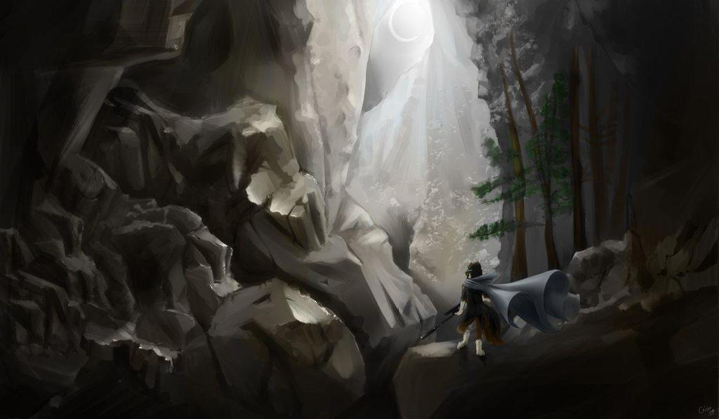 Commission - Ravine Wanderer - Bayzan