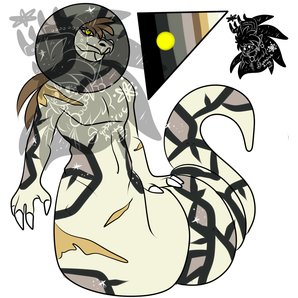 Shiny male Sandaconda +Design+ (SOLD)