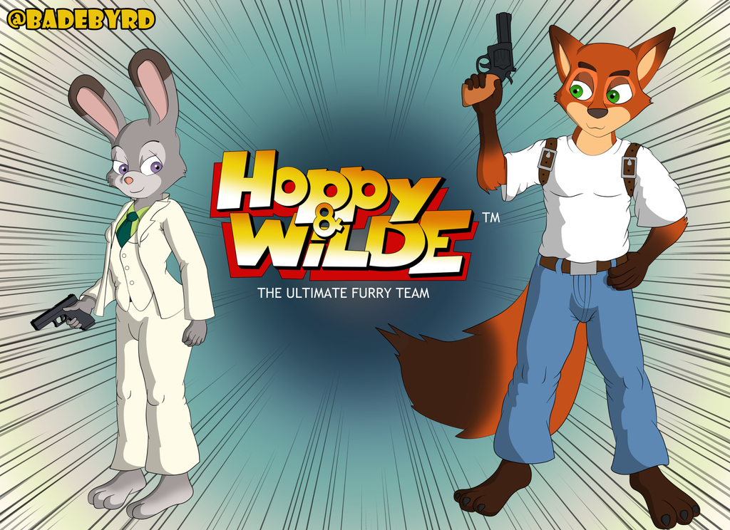 Most recent image: Hoppy and Wilde The Ultimate Furry Team