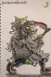 Inktober 20: Grim Reaper