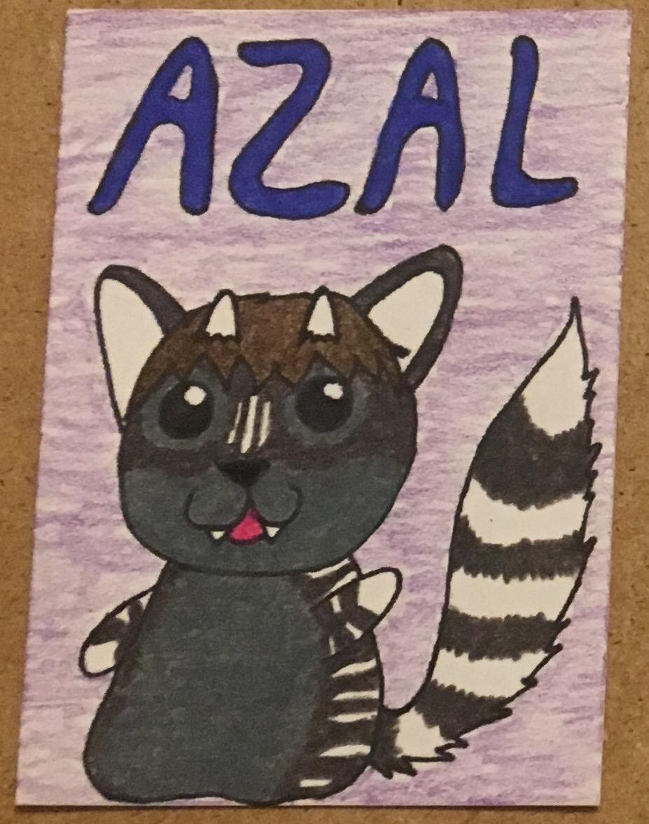 [My Art] ATC for Azal