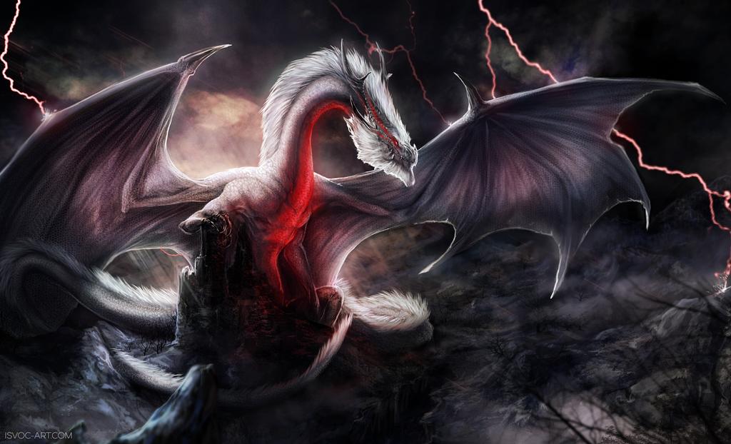 Monster Hunter - White Fatalis