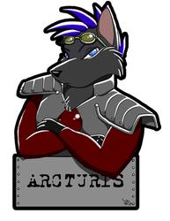 Arc's FC09 Con Badge