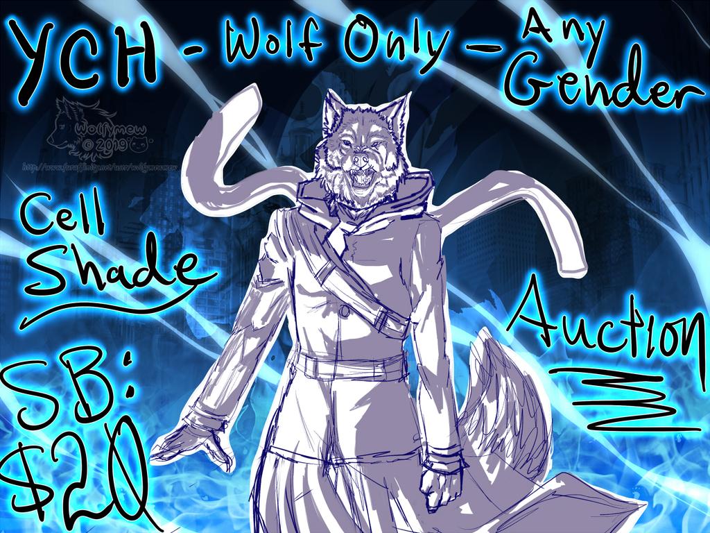 Anime Wolf Auction