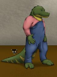 Oliver The Gator-Color