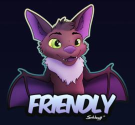 Friendly the Bat