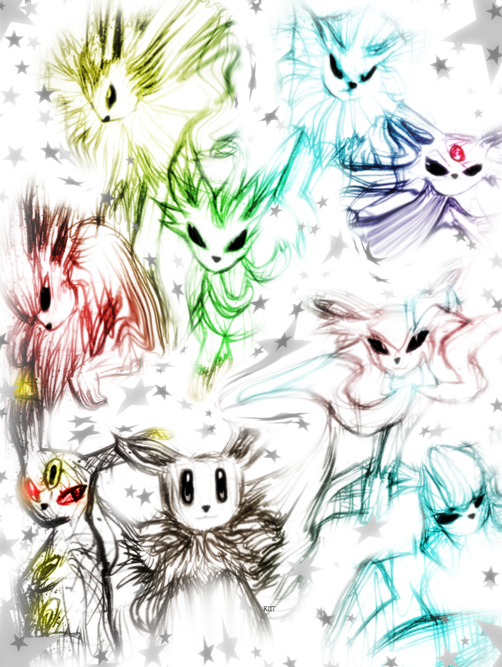 Most recent image: Pokemon-Eeveelutions Prism