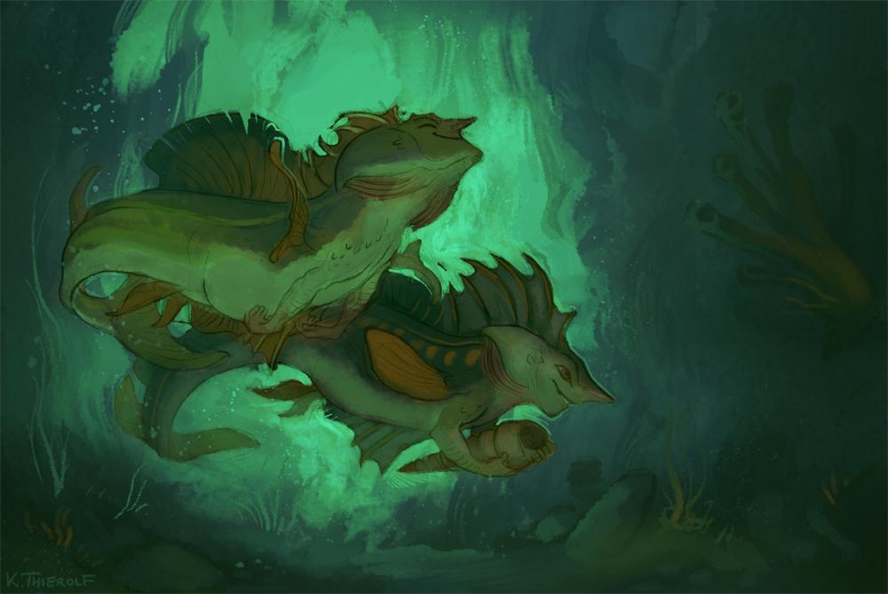 Sketch Dailies - Mermaid