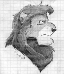 Random lion character in TLK style [2011]