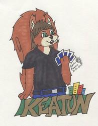 Keaton Badge - 2015