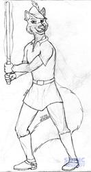 Jedi Knight Robin Hood (sketch)