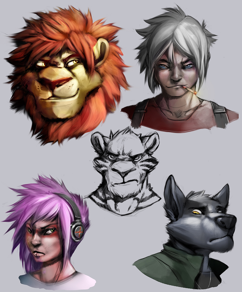 Most recent image: Evolution Meltdown main characters