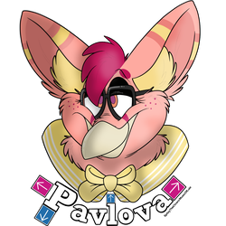 Pavlova Headshot Badge