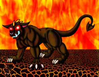 Cerbie the Hellhound