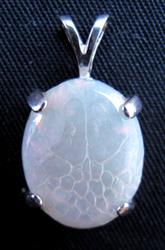 Snakeskin Opal Pendant