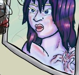 Figure in the Mirror