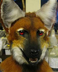 Maned Wolf mask