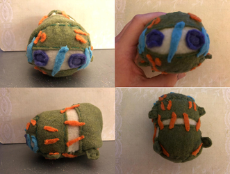 Jojo's Bizarre Adventure Secco Stacking Plush Commission