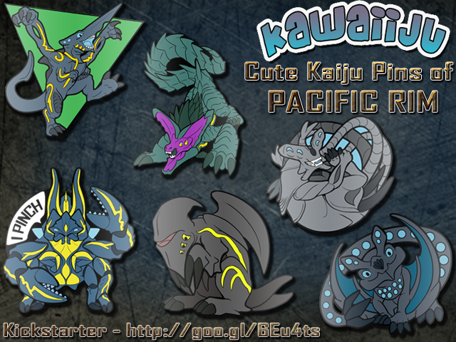 Kickstarter! Kawaiiju Pins!!