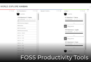 [Resource] FOSS productivity tools