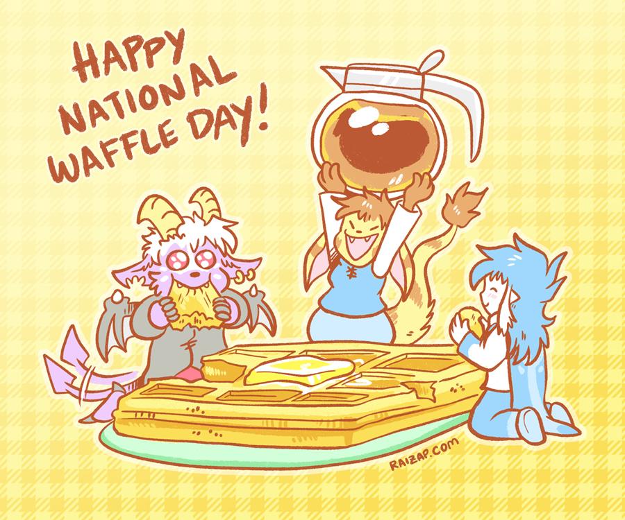 Happy National Waffle Day