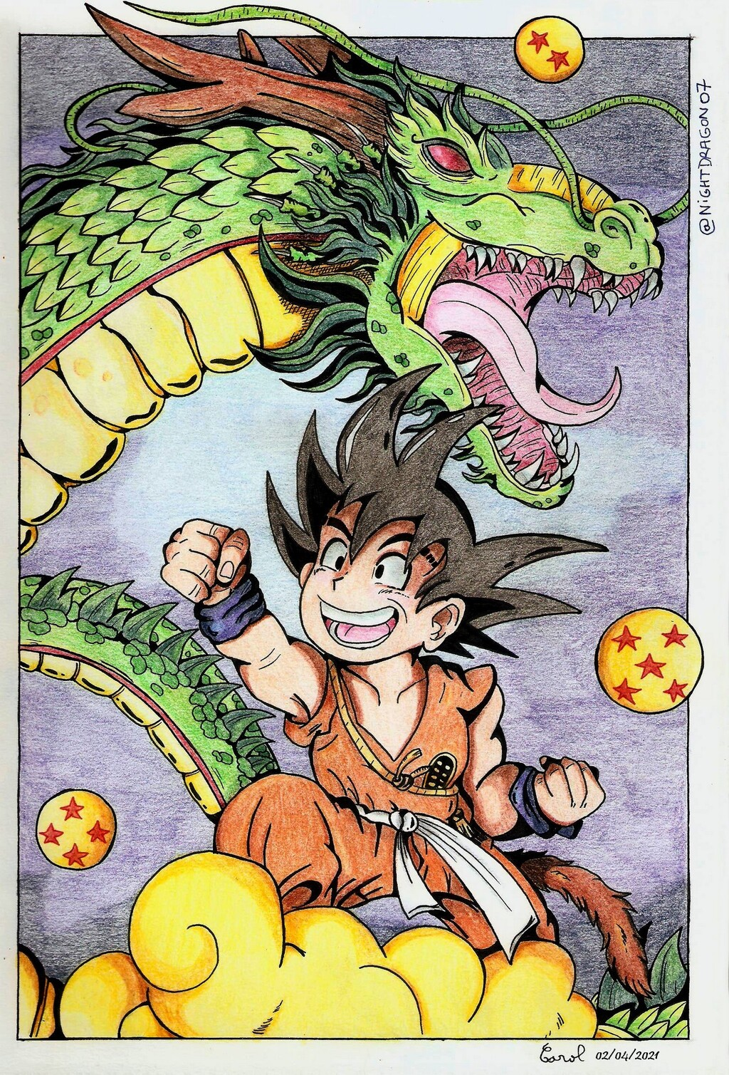[Gift] Goku and Shenron