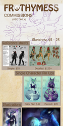 Commission Price Sheet 2016