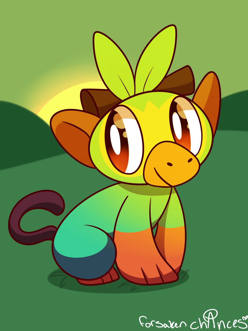 Most recent image: Grookey Doodle