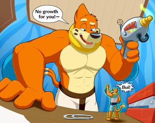 Buizels with Shrink Rays