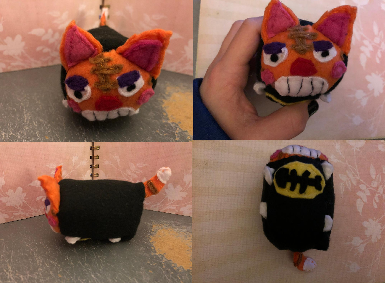 Animal Crossing New Horizons Tabby the Cat Stacking Plush made for myself