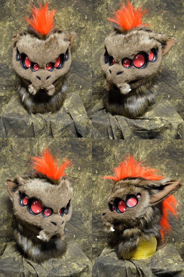 Voice the Spider folf head