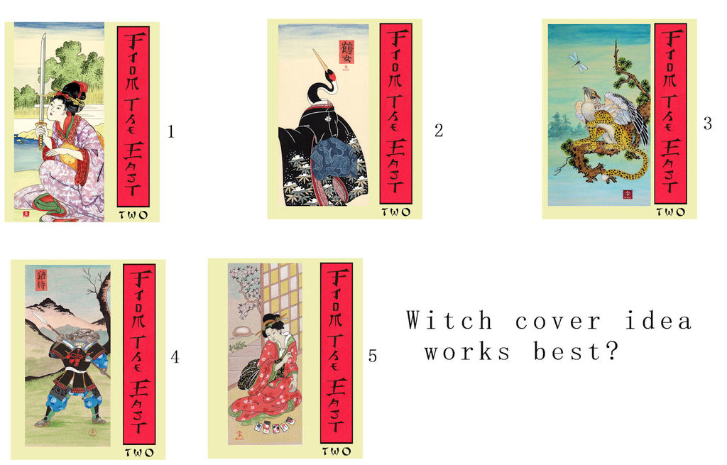 Most recent image: From the East 2, cover ideas