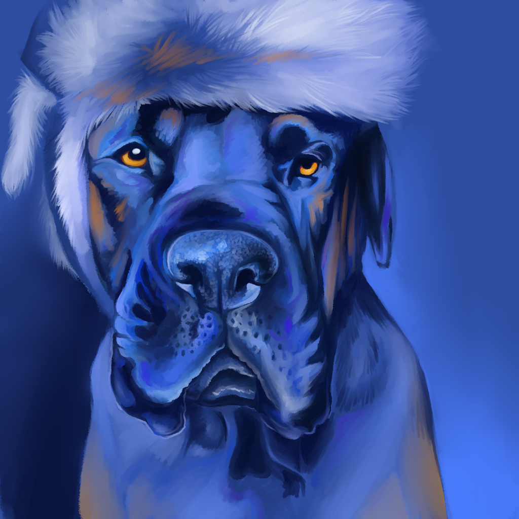 Featured image: Linus In Blue - Finished