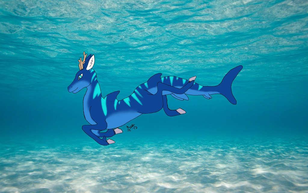 Ondine the Blue Tiger Deeark