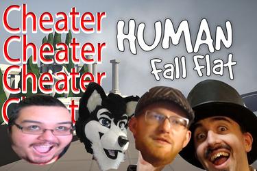 VIDEO Human Fall Flat Cheating