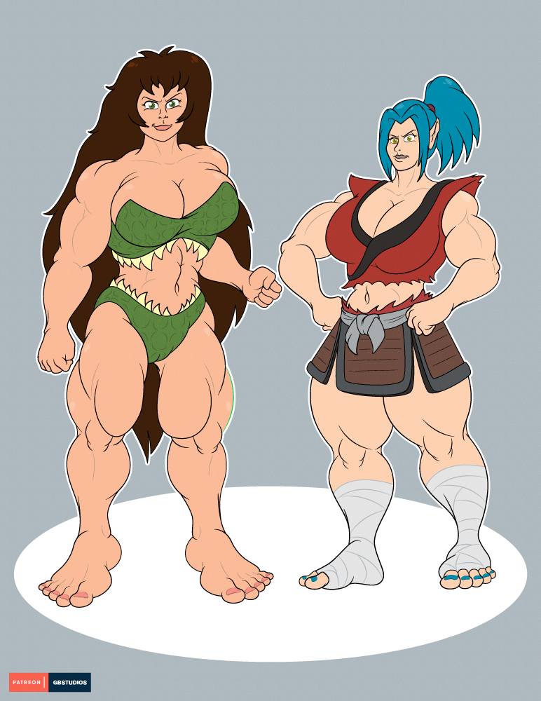 Most recent image: Kaila and Nijia - Big Buff Girls (c)