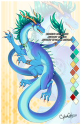Blue Cloud Dragon  Adoptable Starting Bid $75