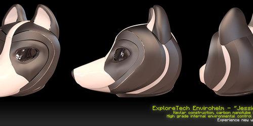 ExploreTech Envirohelm for Canines