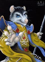 Karter the Warlock Opossum