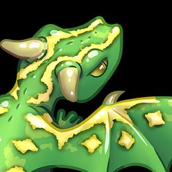 Dragon gecko diamond pattern