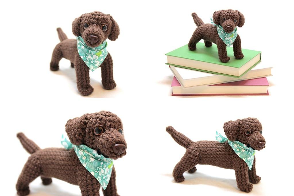 Chocolate Labrador Retriever Doll - For Sale!