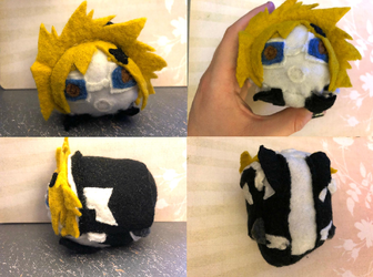 My Hero Academia Denki Kaminari Stacking Plush For Sale