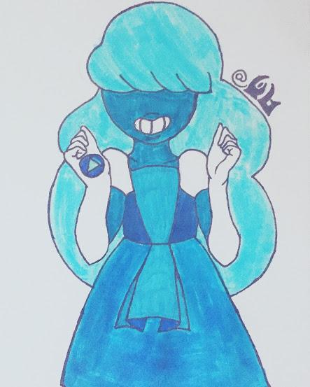Most recent image: Sapphire - Steven Universe