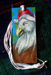 Merry Eagle Bookmark