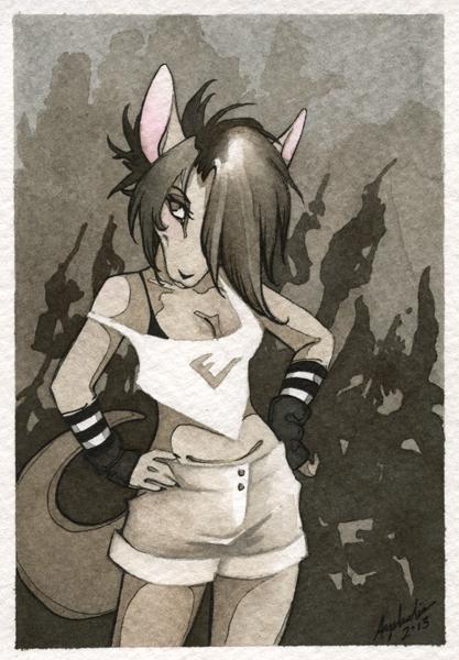 Mini Portrait - Lidya