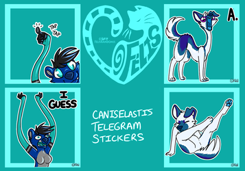 CanisElastis Telegram Stickers